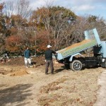 「ともにそだつ木」の土壌改良作業