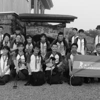1.石鎚山頂上にて記念撮影