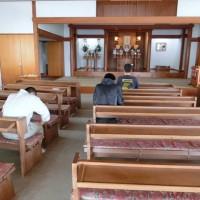 熊本教会参拝