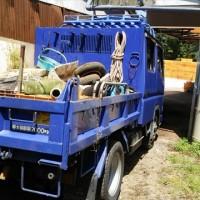 山西信徒M氏 キャリーケースの移動、災害ゴミの撤去