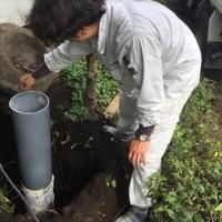 7.23-27 松橋・山西シャワー棟設置